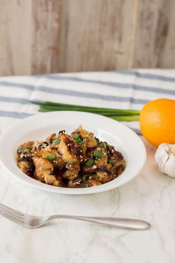 Paleo Orange Chicken Recipe