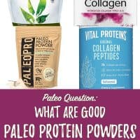 What Paleo Protein Powder and/or Collagen Supplements Do You Recommend?