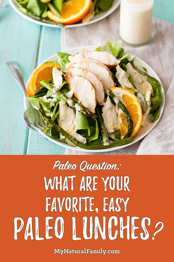 What are Your Favorite, Easy Paleo Lunches?