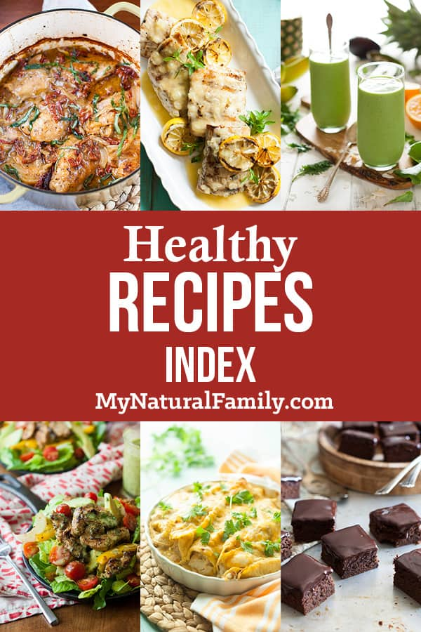 Healthy Recipes Index