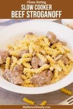 Healthy Crock Pot Beef Stroganoff Recipe