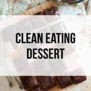 clean eating desserts