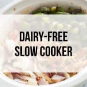 dairy free crockpot recipes