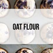 oat flour recipes