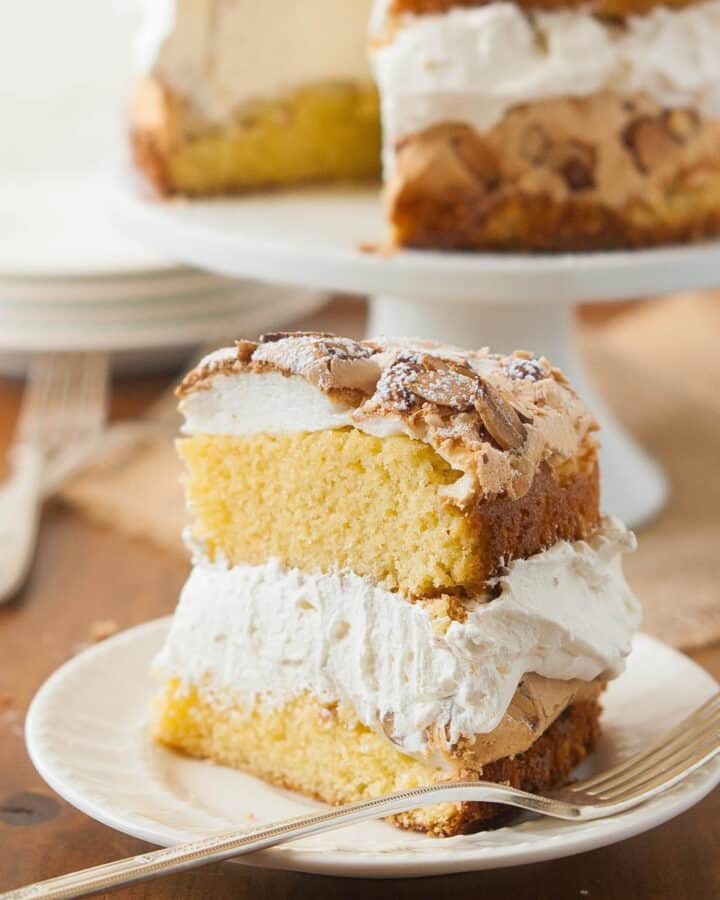 gluten free meringue cake