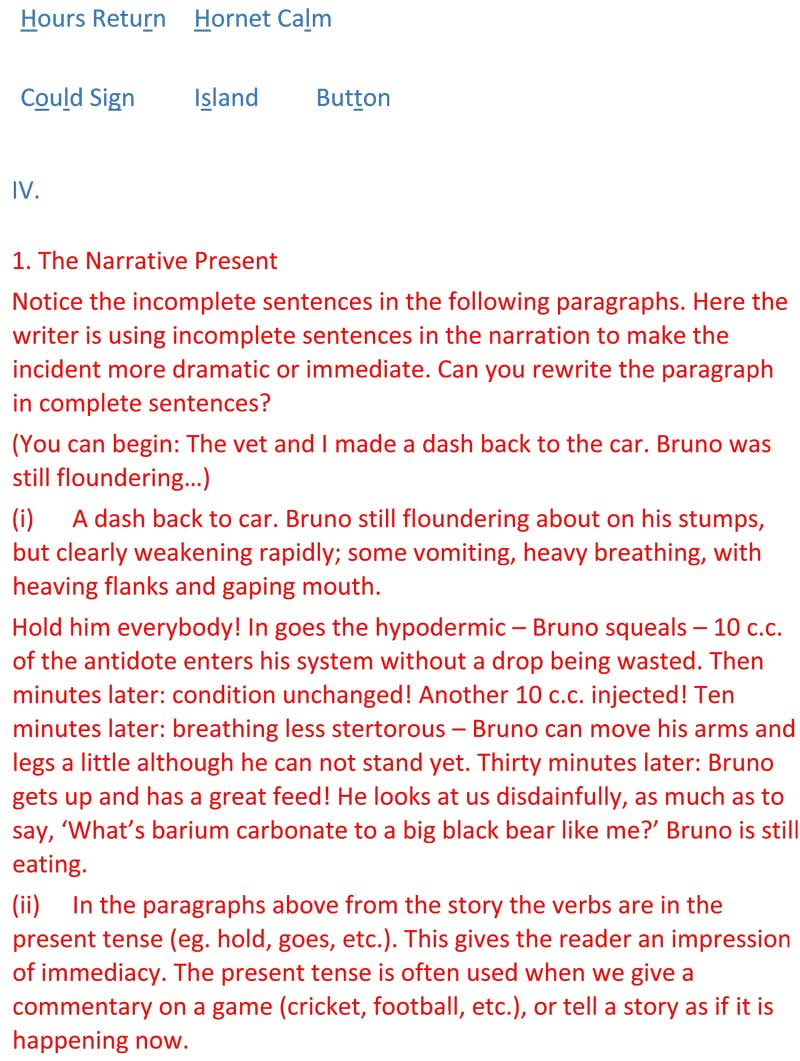 ncert solutions for class 9 english chapter 16 beehive the bond of love 7