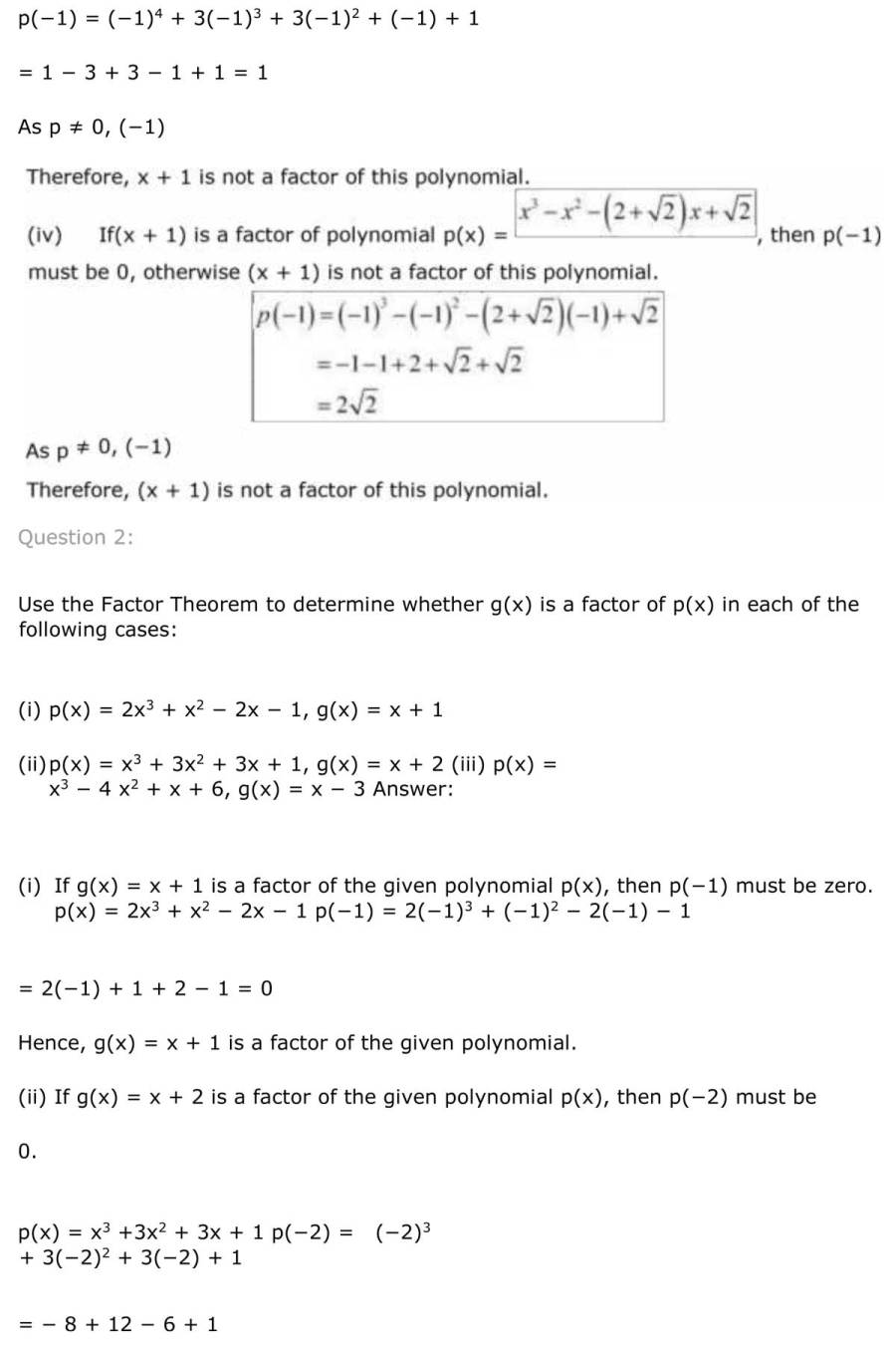 ncert solutions for class 9 maths chapter 2 polynomial 17