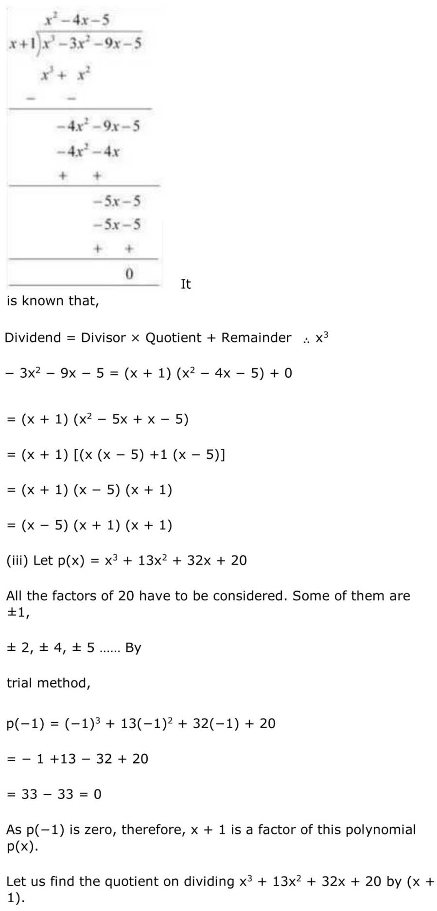 ncert solutions for class 9 maths chapter 2 polynomial 26