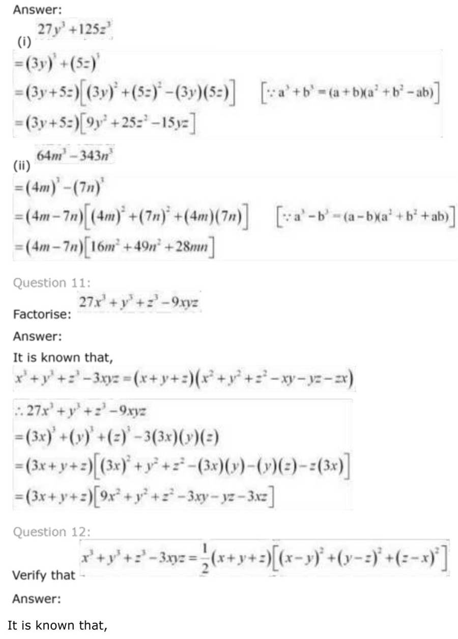 ncert solutions for class 9 maths chapter 2 polynomial 37