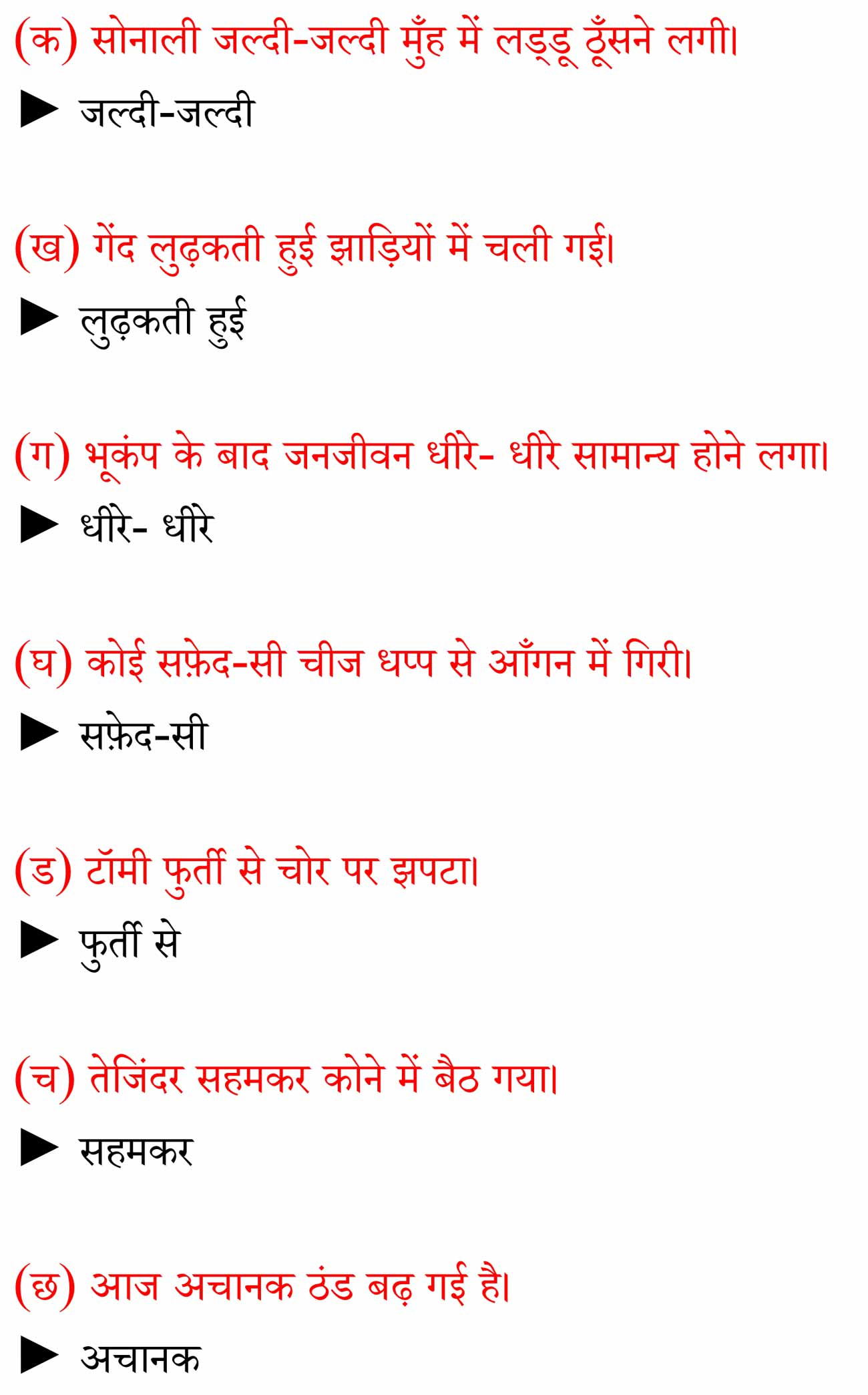 NCERT Solutions For Class 6 Hindi Vasant - Chapter 1 वह
