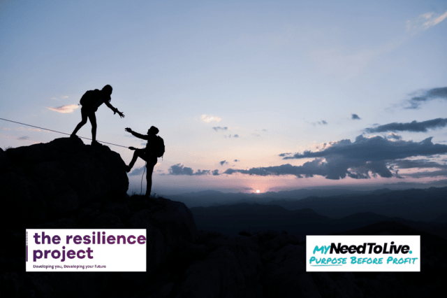 MyNeedToLive Partners with The Resilience Project