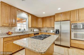Picture of Vacant Kitchen staging