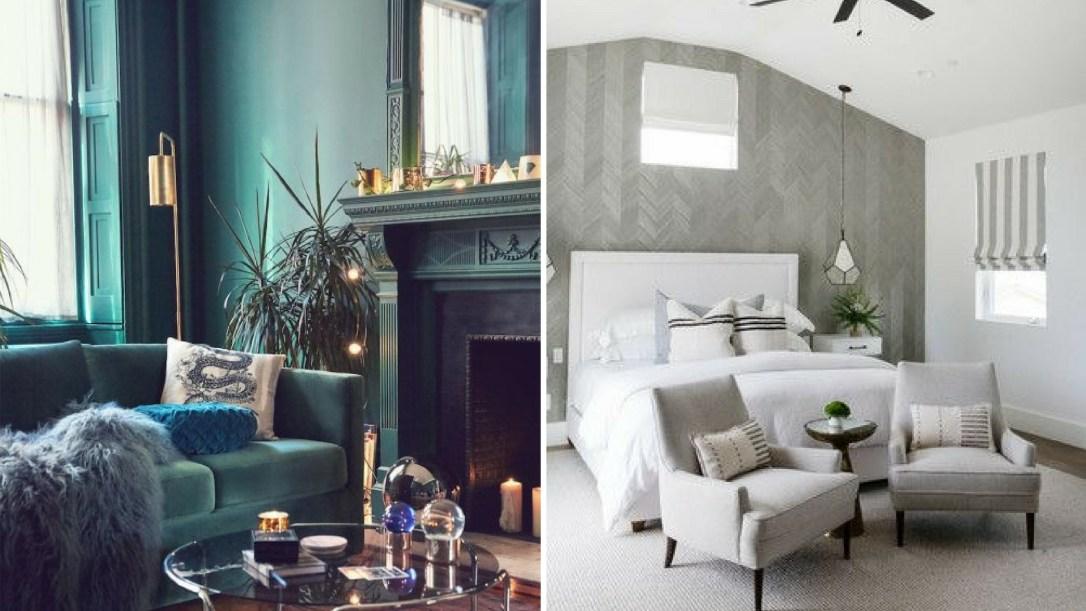 Example pictures of monochromatic interior design