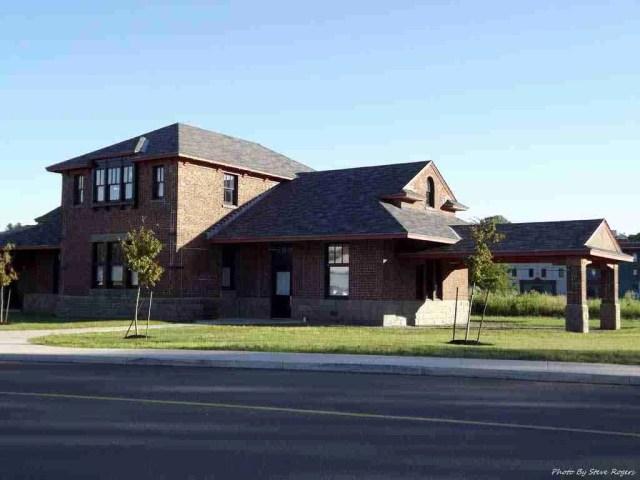 York Street Train Station, Fredericton