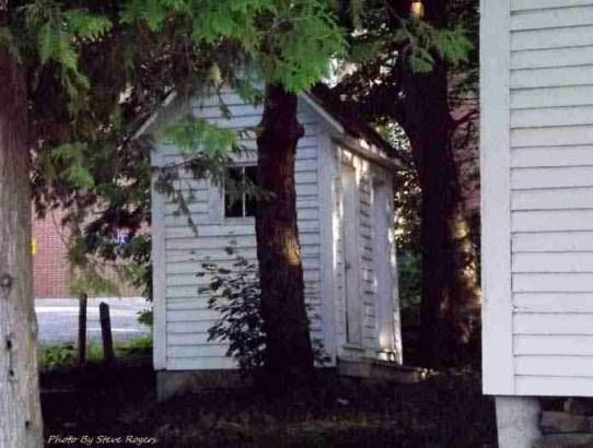 Burden Academy Outhouse