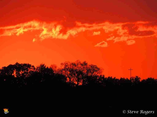 Sunset From Northside Fredericton July9,20146
