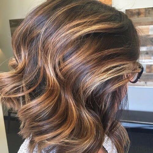 balayage on bob haircut