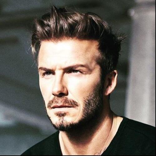 David Beckham Men Hairstyle Faux Hawk
