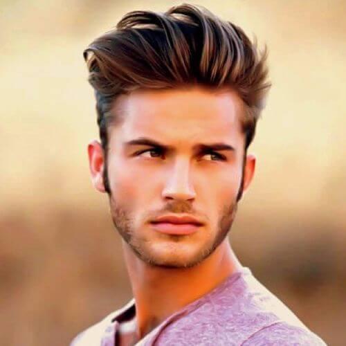 David Beckham Hairstyle Faux Hawk