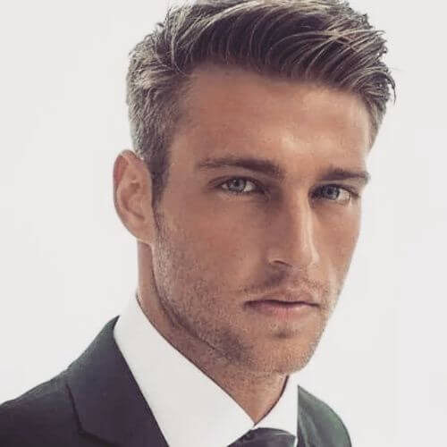 hairstyles for men with thin hair classy cut