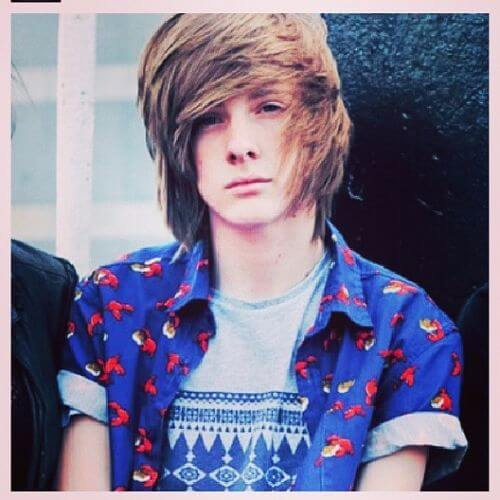 Emo Hairstyles For Guys - Emo hairstyle boy pic