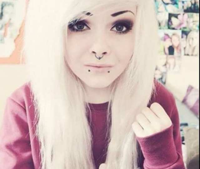 Blonde Emo Hair For Girls
