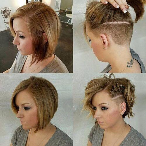 60 great updos for short hair to try on every occasion braided side bob haircut updos for short hair winobraniefo Images
