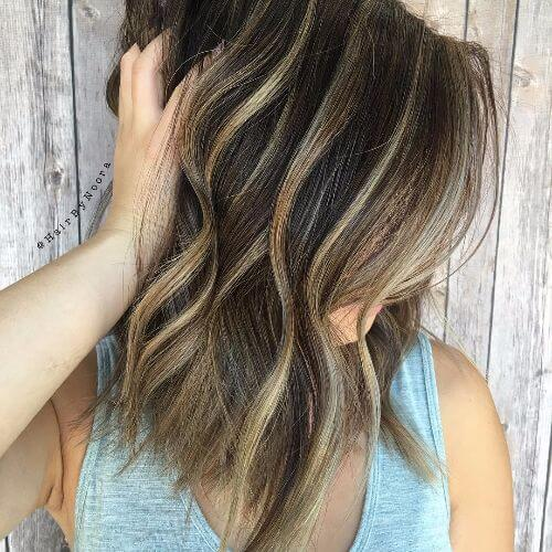 45 blonde highlights ideas for all hair types and colors blonde lowlights and blonde highlights on brown hair pmusecretfo Choice Image