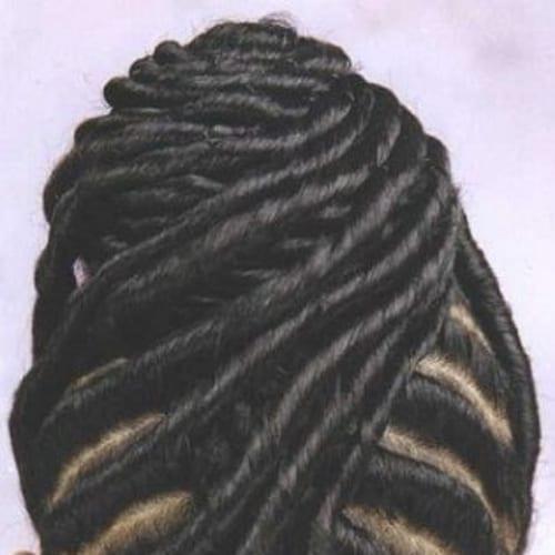 Classy Chic Silky Twist Updo twist braids