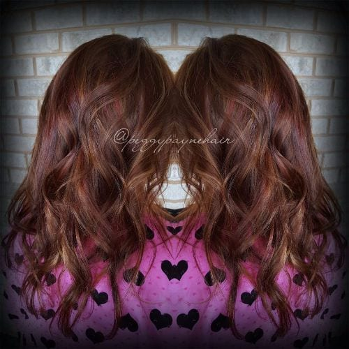 100 caramel highlights ideas for all hair colors caramel highlights on red brown hair pmusecretfo Image collections