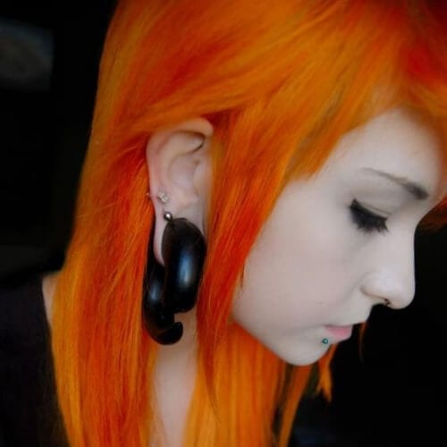 fire long emo hairstyles for girls