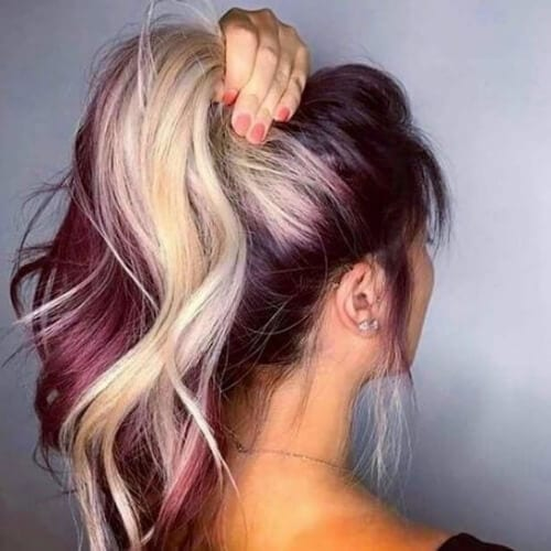 35 Burgundy Hair Ideas For Blonde Red And Brunette Hair