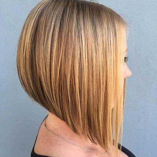 Clean Cut A Line Bob Hairstyles