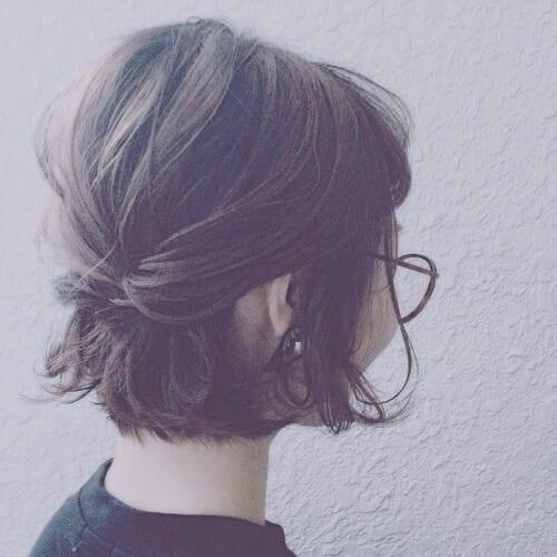 Cute Pinned Hairstyles