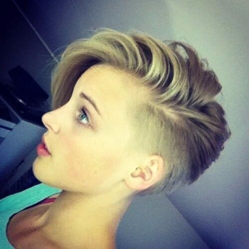 chic pixie cut