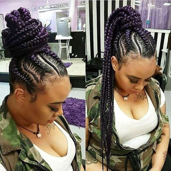 50 Goddess Braids Hairstyles My New Hairstyles