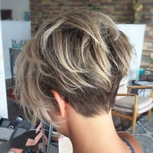 simple pixie cut