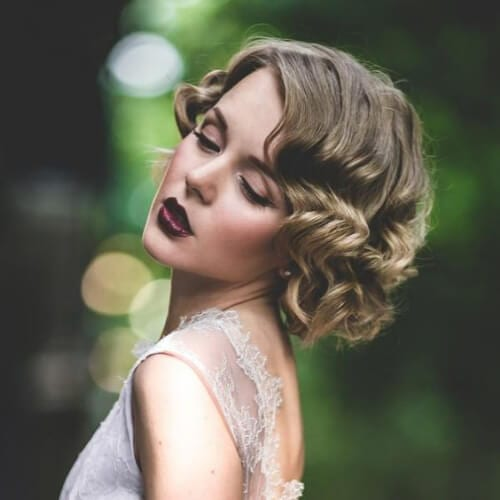 20s hairstyles for curly hair