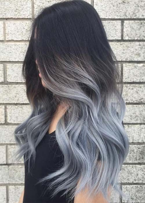 grey hair tye dye