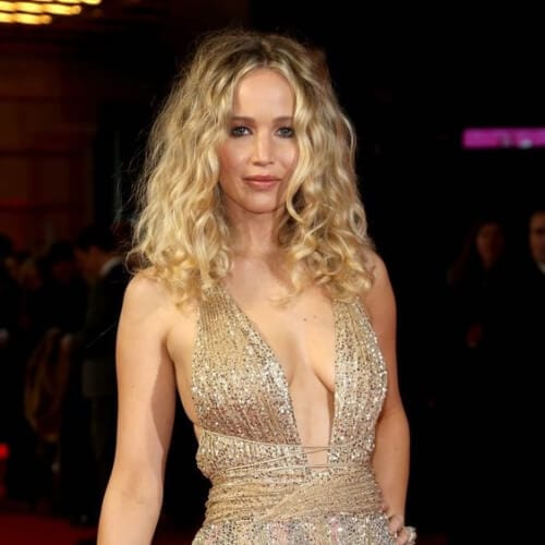 jennifer lawrence hairstyles for curly hair