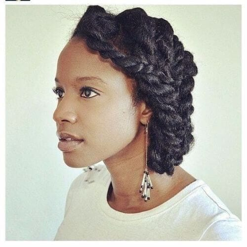 natural hairstyles for spring