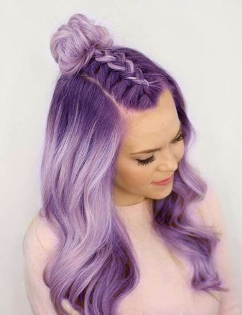 purple in hair styles 60 purple hair ideas and hairstyles my new hairstyles 1948