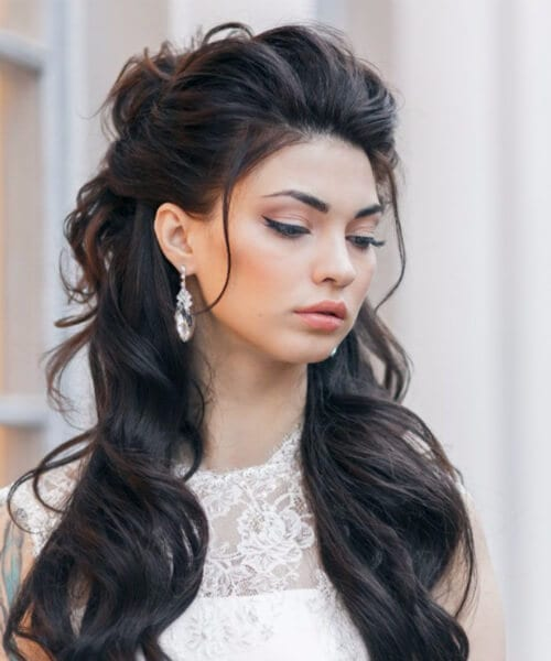 brunette homecoming hairstyles