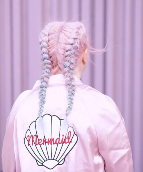 candy mermaid hair