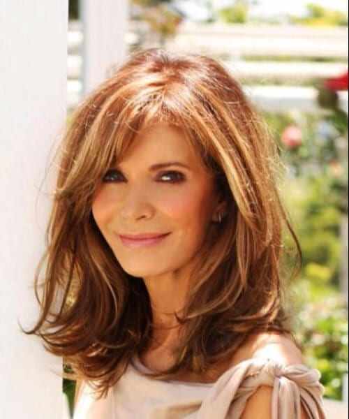 Medium Haircuts For Women Over 50 Www Bilderbeste Com