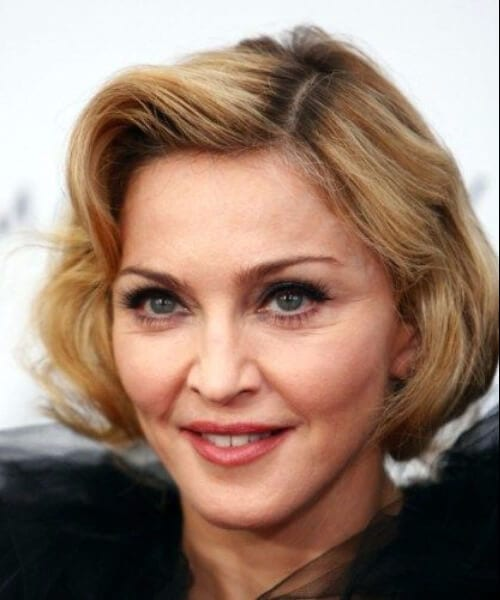 madonna hairstyles for women over 50