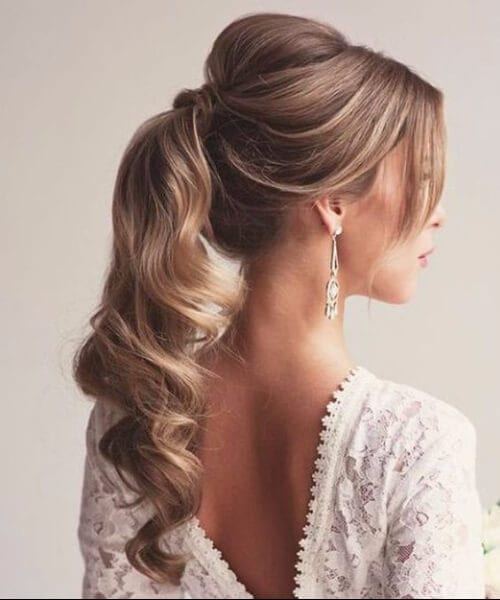 simple ponytail homecoming hairstyles