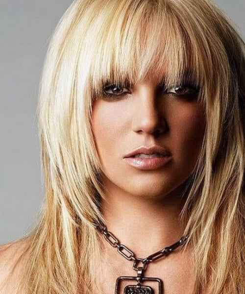 britney spears shag haircut
