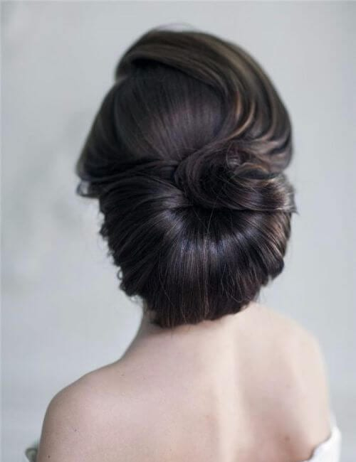 flawless bun bridesmaids hairstyles