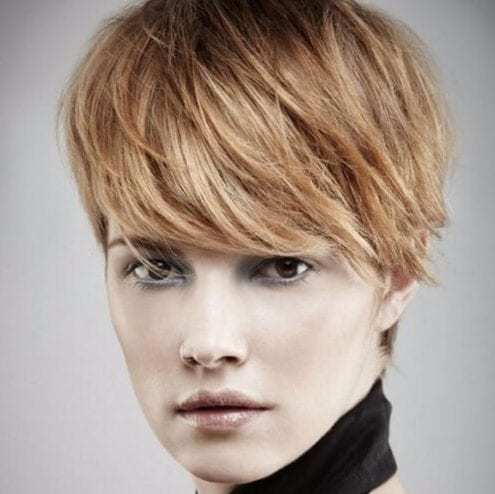 haircuts for round faces